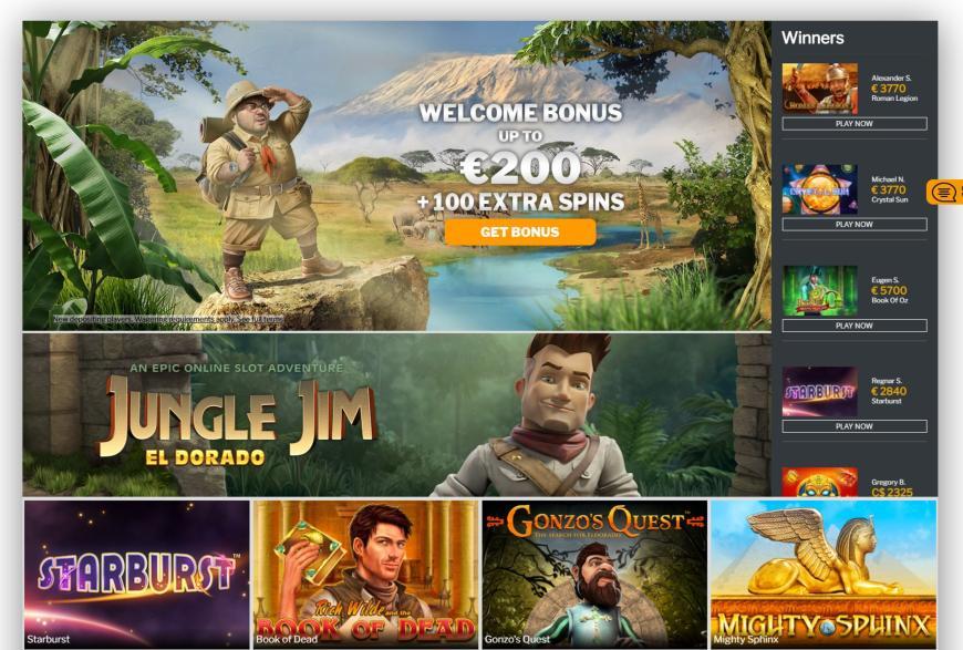 Jambo Casino spellen
