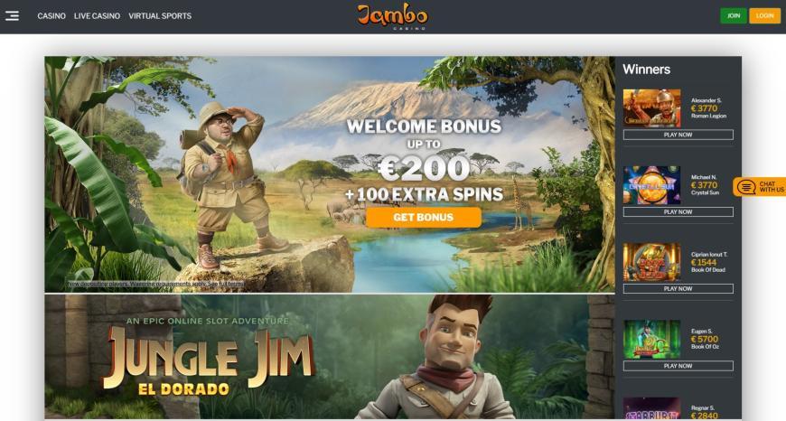 Jambo Casino feiten en cijfers