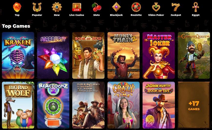 AmunRa Casino spellen