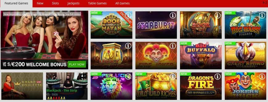MagicRed Casino spellen