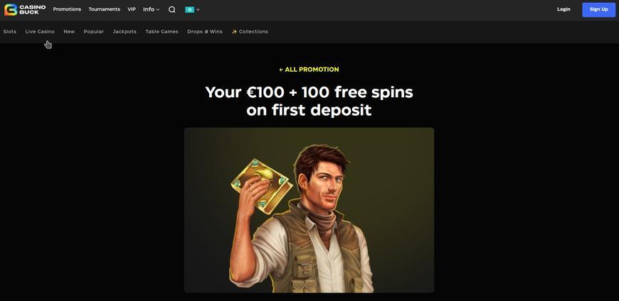 CasinoBuck bonussen